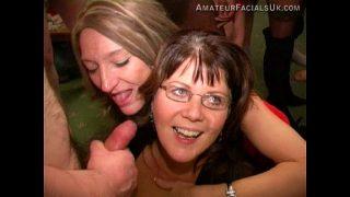 Xmas party 2 amateur facials uk