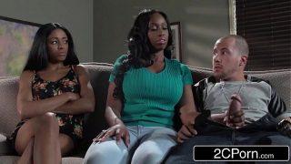 Big Tit Ebony MILF Codi Bryant Attempts To Steal Young Anya Ivy's Boyfriend