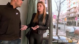 Beautiful Angel Piaff Enjoys Rebound Sex in Public