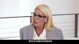 MYLF – Big Boobs Mature Milf (Alura Jenson) Sucks A Married Stud's Big Dick